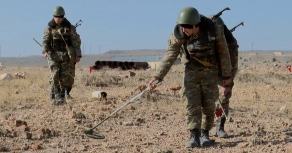 Սիրիայում ականային պատահարից տուժած սակրավորն արդեն Հայաստանում է