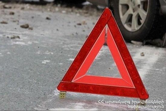 Երևան-Սևան ավտոճանապարհին «ԿամԱԶ»-ն ընկել է ձորը