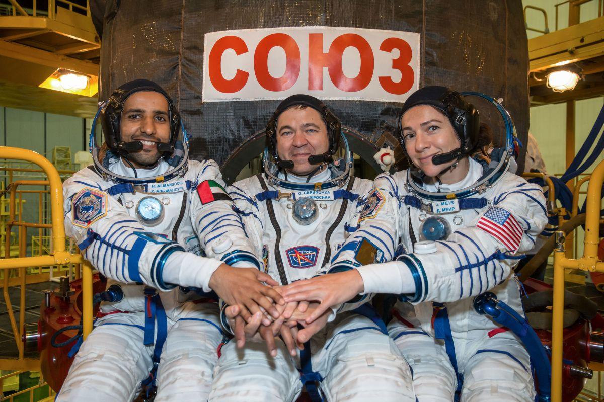 3 նոր տիեզերագնացներ արդեն Միջազգային տիեզերական կայանում են (ՏԵՍԱՆՅՈւԹ)