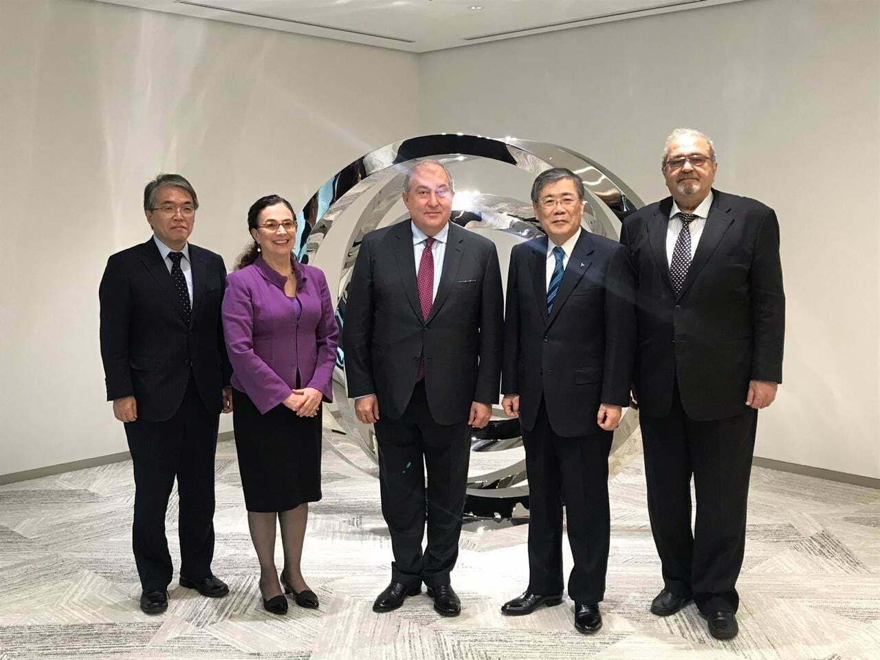 Նախագահ Սարգսյանն այցելել է ճապոնական Mitsubishi Heavy Industries ընկերություն