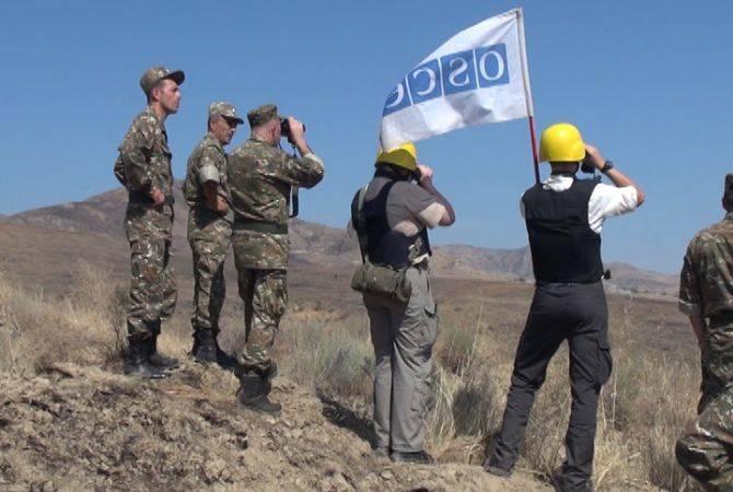 ԵԱՀԿ-ն դիտարկում է անցկացրել Արցախի ու Ադրբեջանի շփման գծում