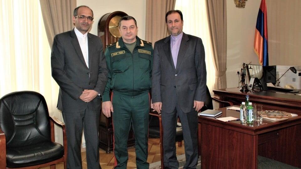 ՔԿԾ-ն պետն ընդունել է Իրանի փոխդեսպանին և հյուպատոսին