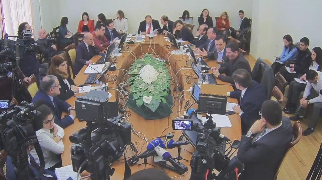 ԱԺ Պետաիրավական հանձնաժողովի նիստ (ՈՒՂԻՂ ԵԹԵՐ)